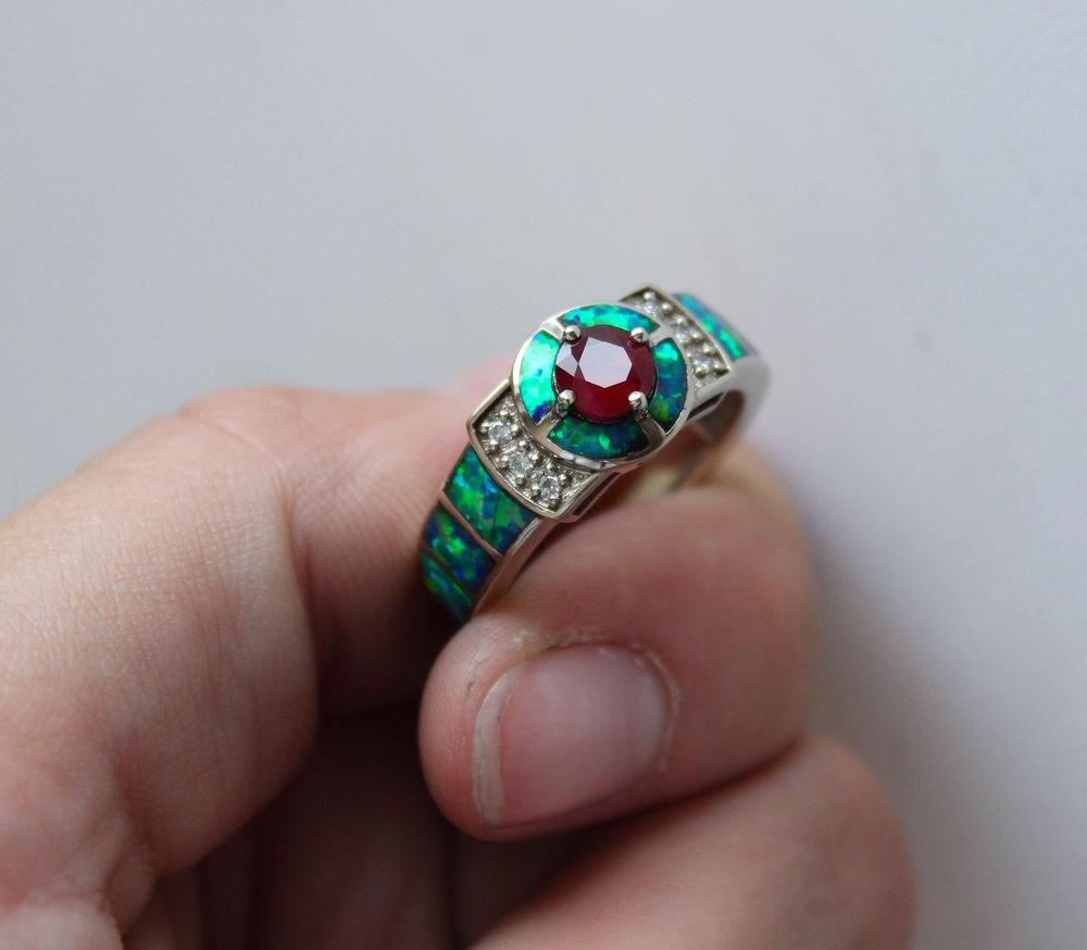 кольцо с опалом, помолвленные кольца