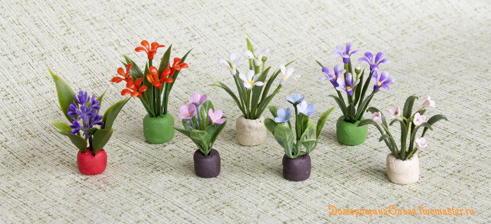 делам цветочки мини, делаем миниатюру