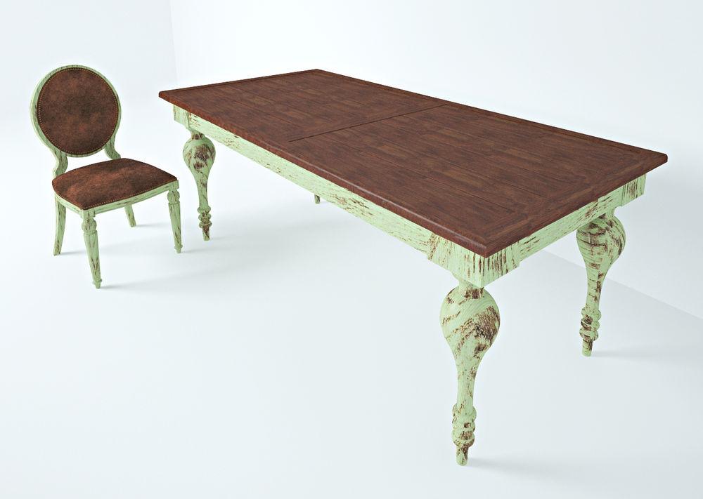 стол крестьянский