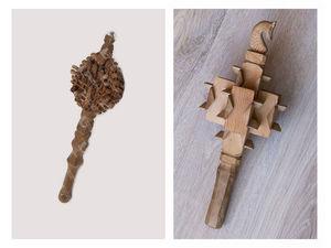 Длина ручки или принципы золотого сечения в изготовлении шаркунков.. Ярмарка Мастеров - ручная работа, handmade.