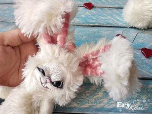 История создания злого кролика. Ярмарка Мастеров - ручная работа, handmade.