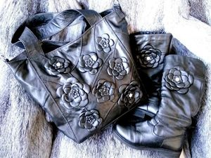 Создаем вместительную дамскую сумку из натуральной кожи. Ярмарка Мастеров - ручная работа, handmade.