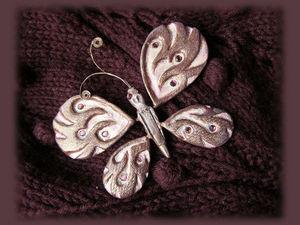 Бабочка никогда от вас не улетит. Ярмарка Мастеров - ручная работа, handmade.
