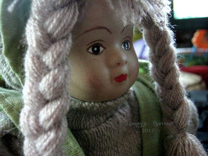 мое творчество, коллекционная кукла, новый год