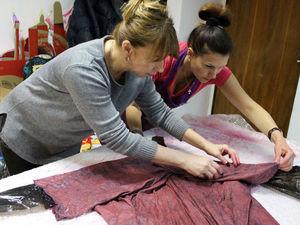 Как мы валяли платья. Видео отчет с места событий. ) | Ярмарка Мастеров - ручная работа, handmade