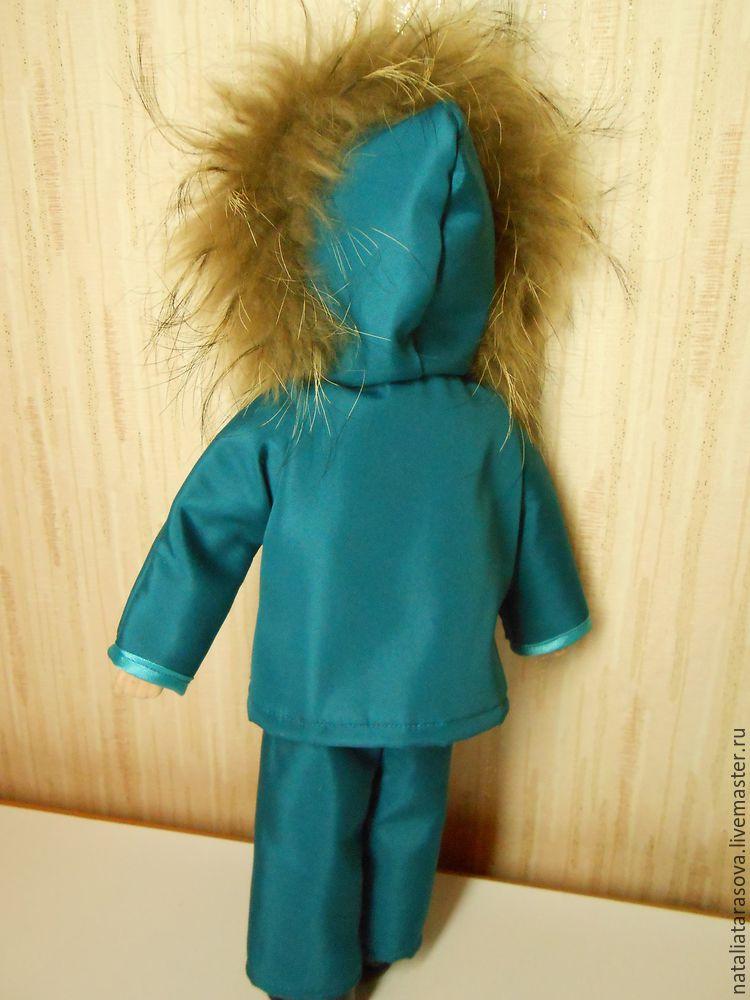 Как кукле сшить куртку 61
