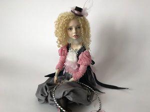 Бель. Красивая девочка в шляпке. Ярмарка Мастеров - ручная работа, handmade.