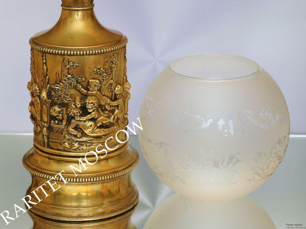 Раритетище Лампа керосиновая латунь Франция 27 | Ярмарка Мастеров - ручная работа, handmade