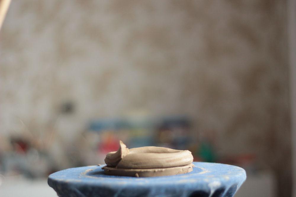 кувшин, посуда ручной работы, ручная лепка