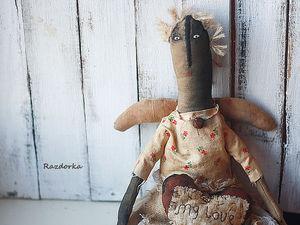 Шьём куклу в стиле «американский примитив» | Ярмарка Мастеров - ручная работа, handmade