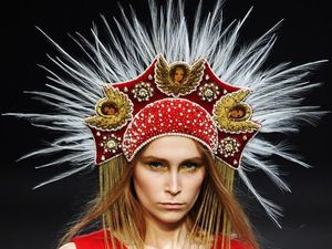 KONSTANTIN GAYDAY: головной убор как арт-объект и дань современному гламурному искусству. Ярмарка Мастеров - ручная работа, handmade.