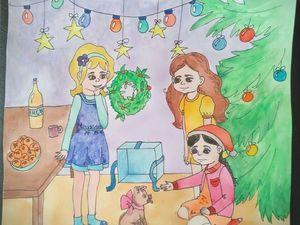 Детки участвуют в новогоднем конкурсе. Нужна ваша поддержка!. Ярмарка Мастеров - ручная работа, handmade.
