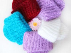 Мохеровые шапочки и как их носят. Ярмарка Мастеров - ручная работа, handmade.