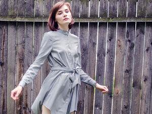 Платье-рубашка Re-Zina. Ярмарка Мастеров - ручная работа, handmade.