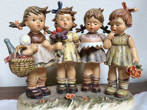 Animated Fabulous Illustrations by the German Nun Berta Hummel. Livemaster - handmade