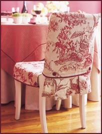 DIY - how to slipcover a chair