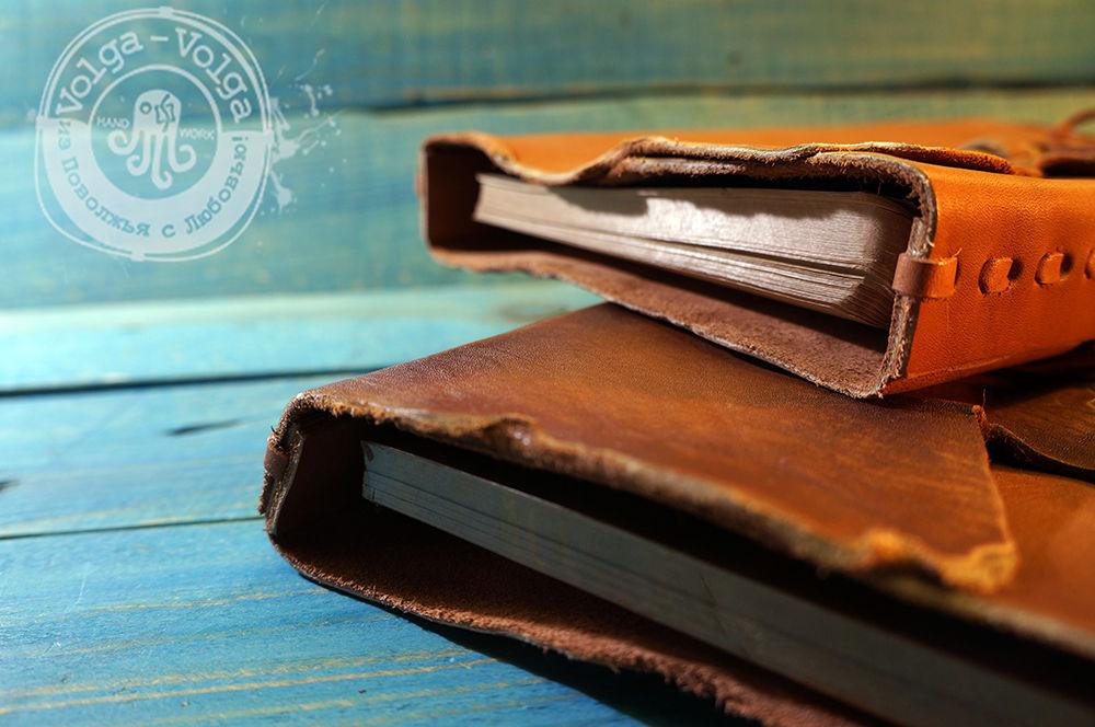 ежедневник, кожаные аксессуары, стильный подарок, блокнот ручной работы, волга волга, старинные вещи, кожа натуральная