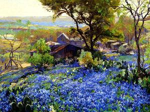 Вдохновенный синий: гармония цвета в картинах художников прошлого и современности. Ярмарка Мастеров - ручная работа, handmade.