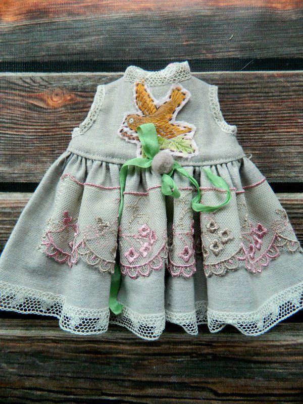 Новые наряды в стиле боха для мишек и кукол!, фото № 6