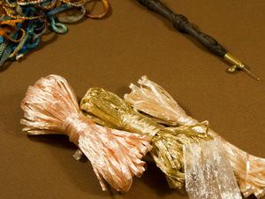 Материалы для вышивки. Рафия. Ярмарка Мастеров - ручная работа, handmade.