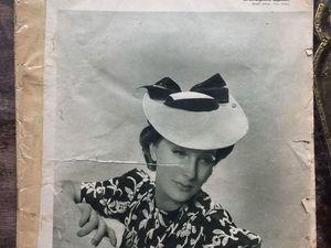 Антикварное издание. Журнал мод  1938 г. Довоенная Германия.. Ярмарка Мастеров - ручная работа, handmade.