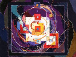 Мастер спонтанного вышивания Connie Pickering Stover и ее философия «Нет границ!» Часть 2. Ярмарка Мастеров - ручная работа, handmade.