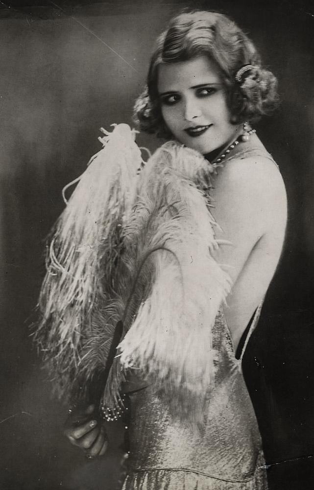 лиана гайд, старая открытка, открытка в коллекцию