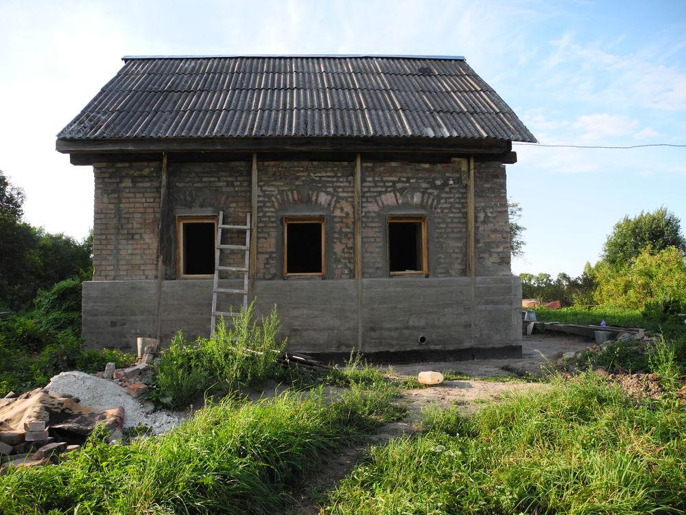 восстановление старого дома, сельские будни