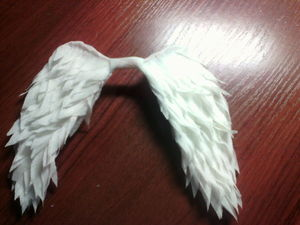 Изготовление крылышек для куколки-ангела. Ярмарка Мастеров - ручная работа, handmade.