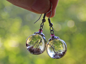 Два украшения из ювелирной смолы в подарок для подписчиков. Ярмарка Мастеров - ручная работа, handmade.