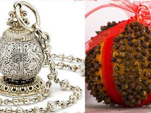 Пряный апельсин: прошлое и настоящее помандера. Ярмарка Мастеров - ручная работа, handmade.