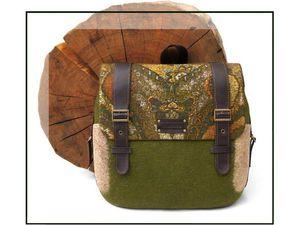 Glafira, Владивосток. Рюкзак с карманами и декором в технике нунофелтинг | Ярмарка Мастеров - ручная работа, handmade