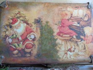 Про Новогодний чемоданчик со старыми игрушками. Ярмарка Мастеров - ручная работа, handmade.