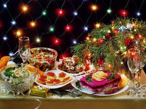 Новогодние рецепты! От салатов до коктейлей