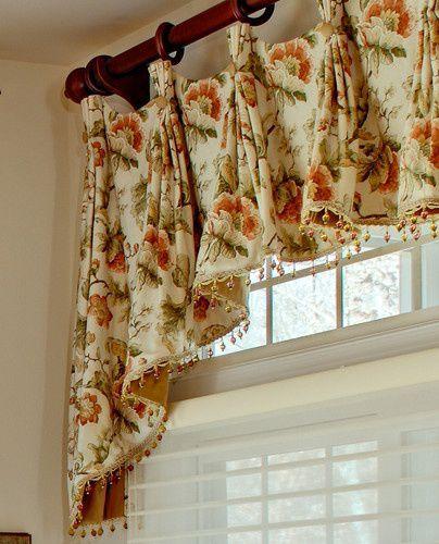 Kitchen Window Treatments traditional window treatments