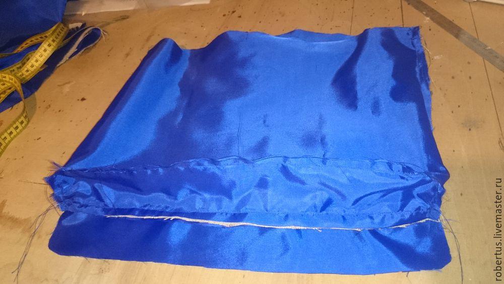 Мастер-класс: как сделать сумку с двойным фермуаром, фото № 19