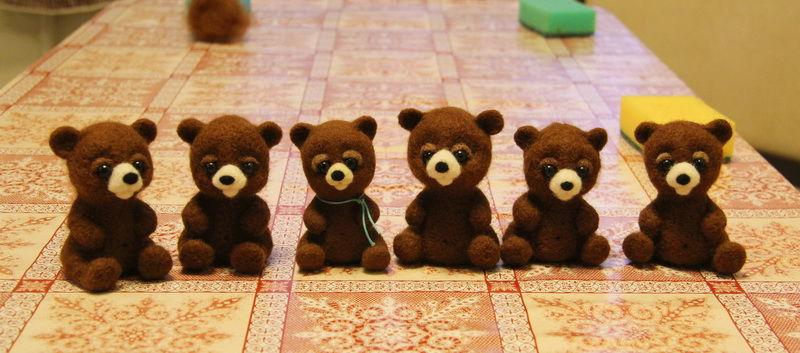 валяние, валяная игрушка, игрушка из шерсти, мастер-класс, медведь, медвежонок, медвежонок из шерсти, медведь из шерсти, презентация, книга, книга по валянию, елена смирнова, игрушка, презентация книги, мастер-шоу
