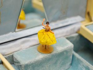 1950г Очень Редкая Швейцарская Reuge Шкатулка с Танцующей Балериной. Ярмарка Мастеров - ручная работа, handmade.