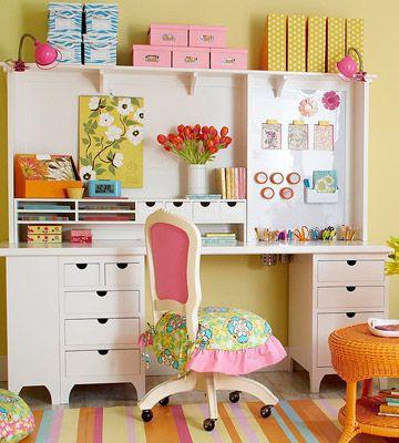 Pretty Perfect Crafts Desk