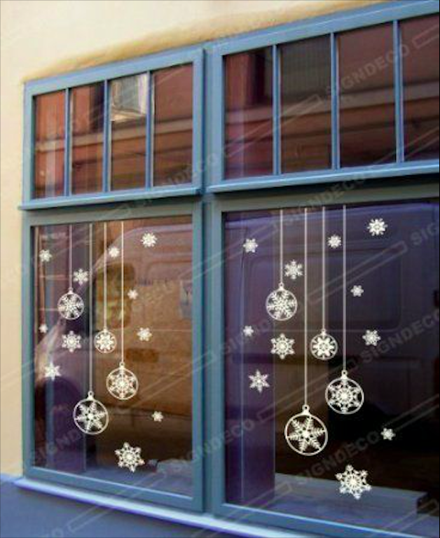 How to Decorate Windows for New Year: 20 Great Ideas, фото № 2