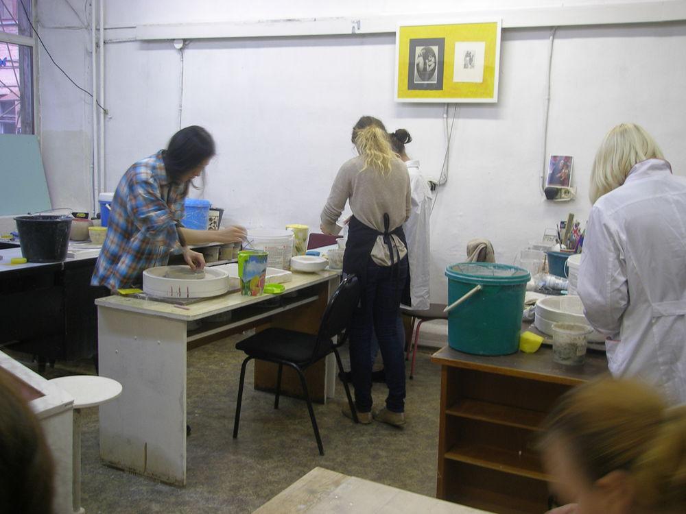 Занятия в  Школе Фарфора по формовке и литью, фото № 1