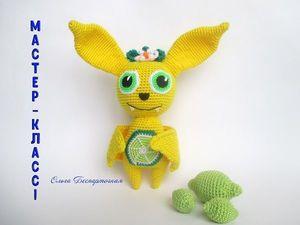 Вяжем летучую мышь «Лаймка». Ярмарка Мастеров - ручная работа, handmade.