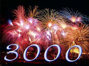 Урааа!!!! Моих друзей сегодня стало 3000!!!! | Ярмарка Мастеров - ручная работа, handmade