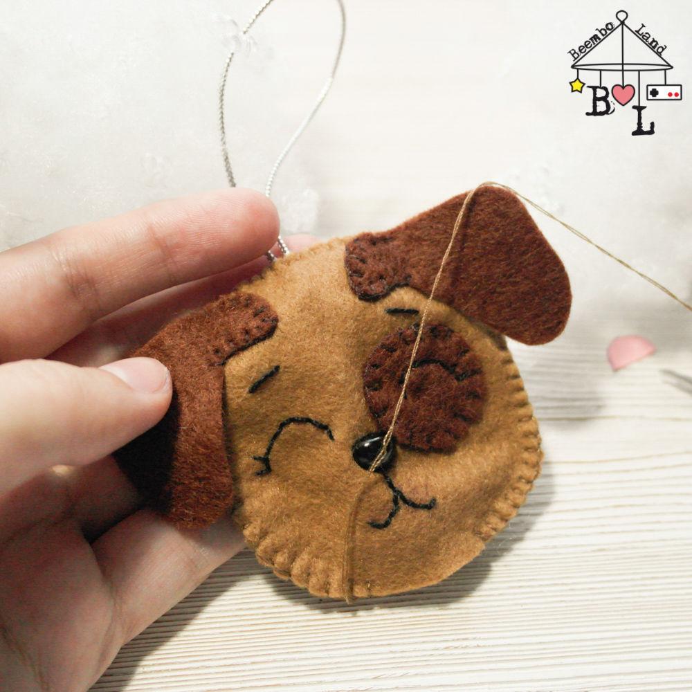Sewing a Sweet Felt Dog for a Christmas Tree, фото № 10