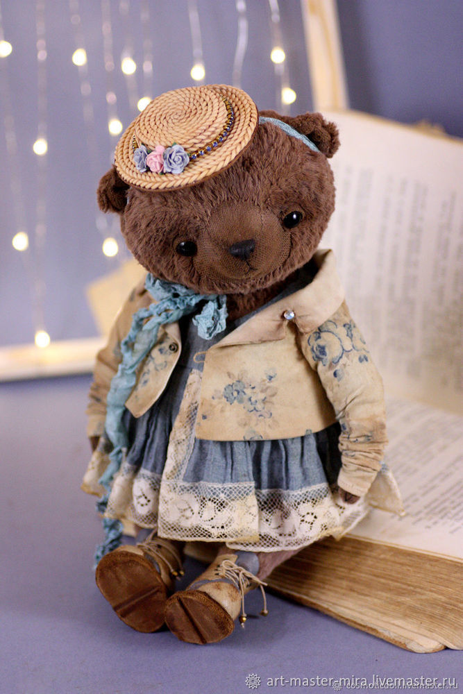 Как нарисовать мишку Тедди акварелью, фото № 1