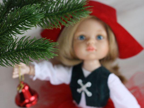 Красная Шапочка игровая кукла | Ярмарка Мастеров - ручная работа, handmade