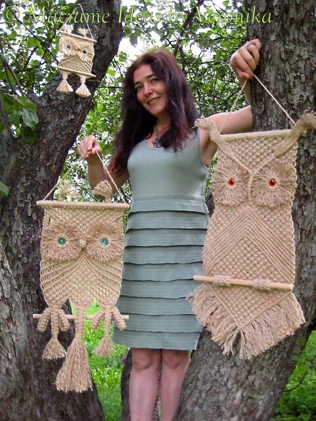 плетеная сова