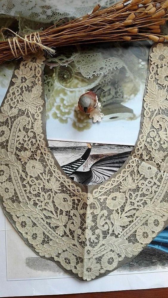 антикварное кружево, антиквариат, старинное кружево, брюссельское кружево, 19 век