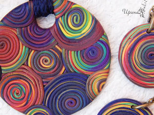 Комплект Радуга | Ярмарка Мастеров - ручная работа, handmade
