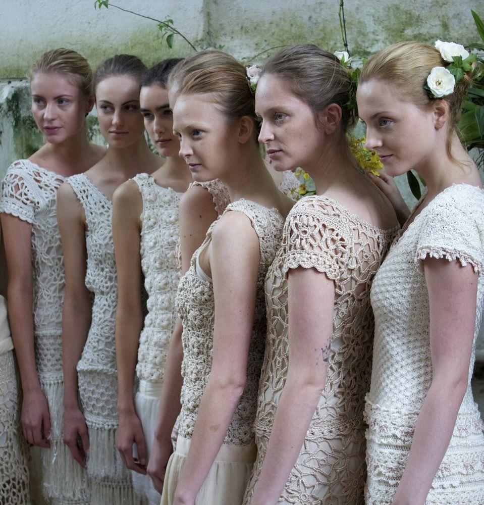 Вязаная мода по-бразильски,  или  Несколько историй о том,  почему дизайнерам нужно верить в себя, фото № 16